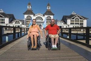 Along the eastern seacoast of Mecklenburg-Vorpommern, many sea bridges radiate new splendor and sparkle the charm of the past. Many bridges are accessible to people with disabilities.