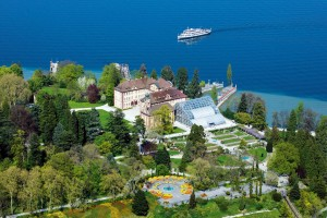 Mainau Palace in summer