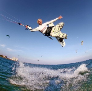 Every year on Fehmarn, top kitesurfers compete for the annual Kitesurf Trophy.