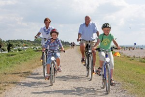 Fehmarn offers a variety of cycle trails for discovering the island by bike.