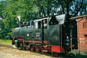Racing Roland narrow gauge railway