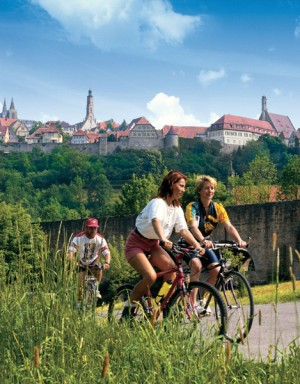 Altmühl Valley Cycle Route, Rothenburg ob der Tauber