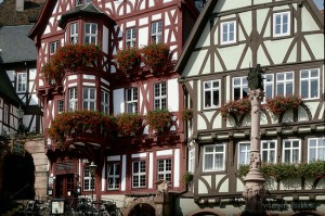 Miltenberg on the Main: market square
