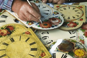 Clock face painter
