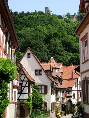 Weinheim old quarter