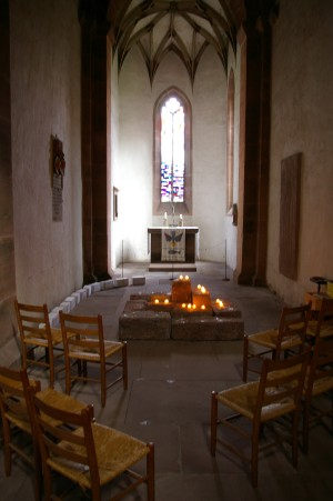 Chapel at Sulz Abbey Church