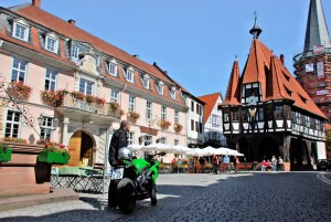 South route: Michelstadt (Odenwald forest)