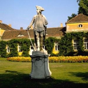 Potsdam: memorial to Frederick the Great in Sanssoucci Park