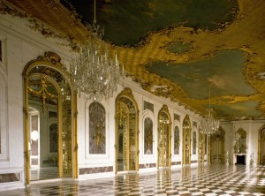 Potsdam: New Palace, the Mirror Room