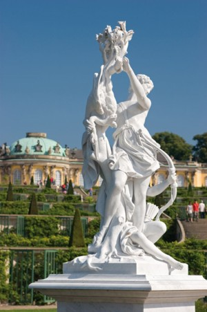 Potsdam: Sanssouci Castle and the famous wine terraces