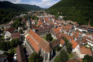 Climatic health and spa resort at Bad Urach