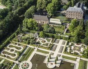 The rosarium at Orangery Palace, Potsdam