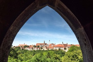 Castle Road: Rothenburg city