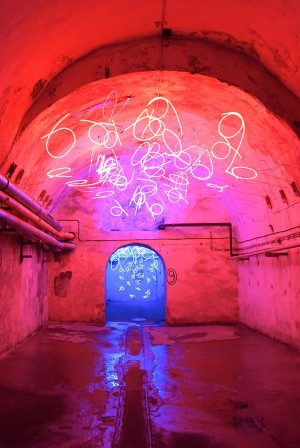 Center for International Light Art - Tunnel of Tears exhibition in Unna