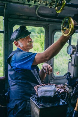 Silver Road - Fichtelberg steam railway and the engine driver