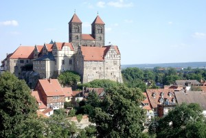 Romanesque Road - Panorama of Quedlinburg