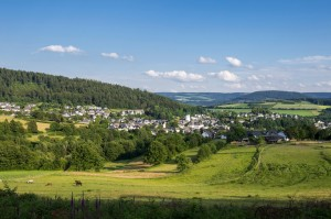 View of Bad Fredeburg in the Sauerland
