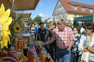 Autumn market in Wartha