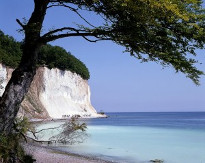 Jasmund National Park, chalk cliffs on Rügen Island