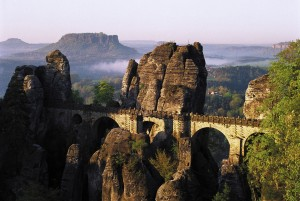 Saxon Switzerland National Park, Bastei Bridge
