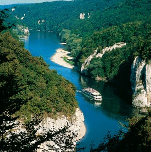 Danube Gorge – one of Germany's most spectacular natural features
