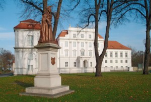 Brandenburg's oldest baroque palace with its typical white exterior