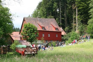 German Mills Day at Menzles mill near Kaisersbach