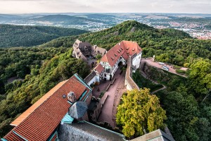 Overlooking the Wartburg