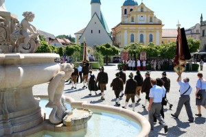 The Corpus Christi procession in Altötting