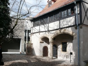 The Luther Trail, the house where Luther was born in Eisleben