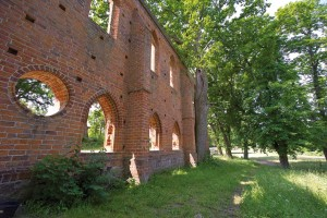 Convent ruins at Boitzenburg Castle