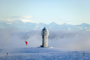 Mount Feldberg, winter