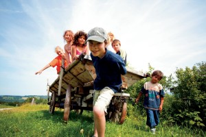 Bavaria, Kinderland Bavaria – on the farm