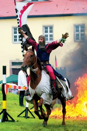 Querfurt, medieval tournament and castle festival