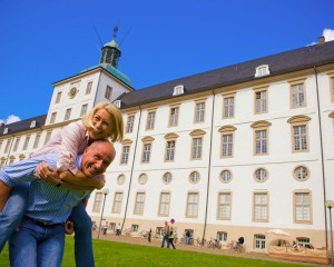 Schleswig, sightseeing at Gottorf Palace