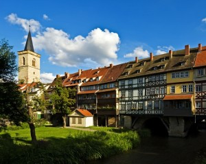 Erfurt, Merchants' Bridge