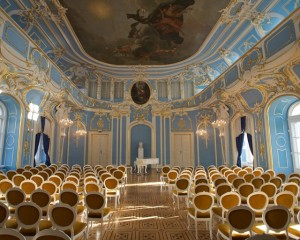 Sondershausen, 'Blauer Saal' hall in the palace