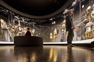 Masks and the 'Intermediary Worlds: Rituals' exhibition