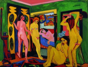 Ernst Ludwig Kirchner's 'Bathers' in the Saarland Museum