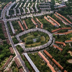 Berlin, Neukölln – Britz 'horseshoe' estate