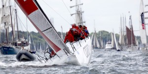Kiel: Windjammer parade, Audi sailing team