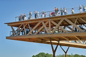 Koblenz/Rhine: Viewing platform at the Federal Horticultural Show