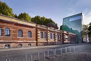 Mainz: Kunsthalle art gallery and tower