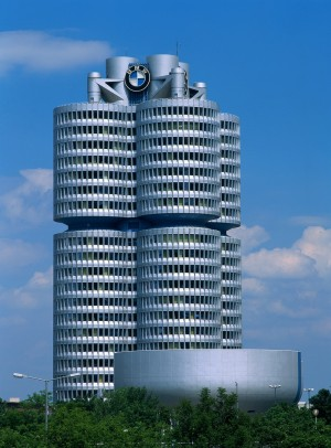 Munich, BMW building