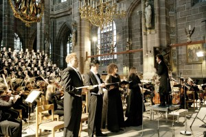 Nuremberg, Lorenz church, international Organ Week