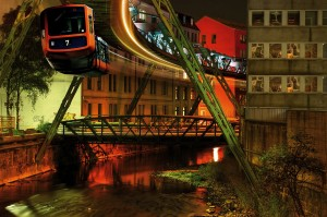 Wuppertal, suspended monorail