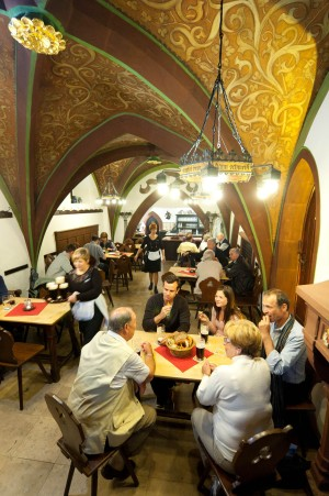 Bamberg Old Town, brewery restaurant