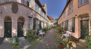 Füchtingshof courtyards