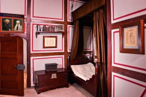 Eisleben, historically furnished bedroom in the house where Luther died
