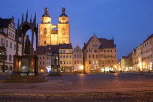 Wittenberg, market square